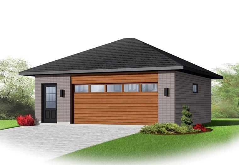 Garage Plan 65398