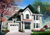 Plan Number 65406 - 1613 Square Feet
