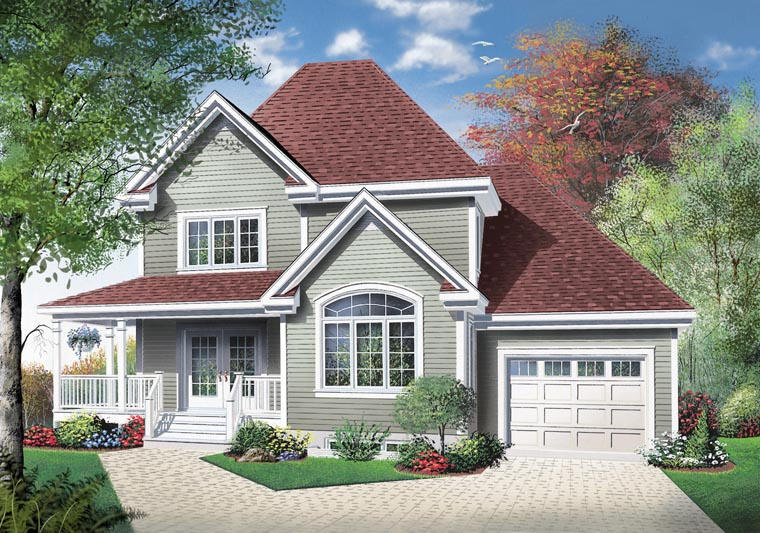 Country House Plan 65418