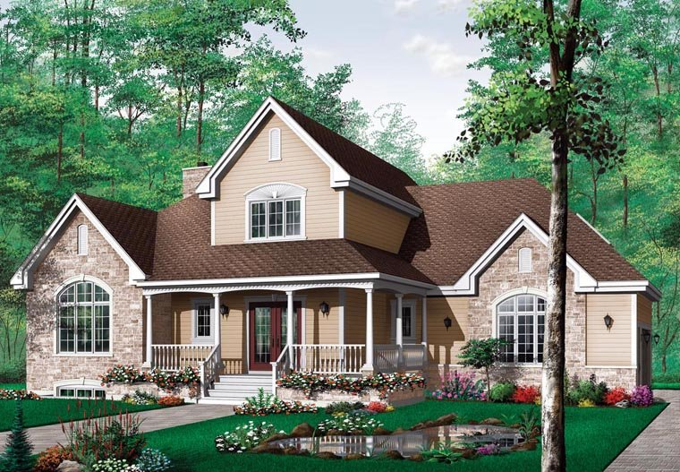 Country Southern House Plan 65426 Elevation