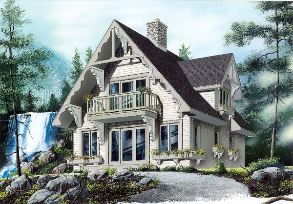 House Plan 65443 Elevation
