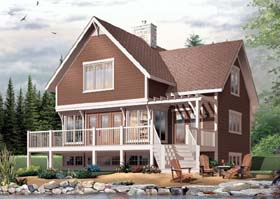 Craftsman House Plan 65444 Elevation