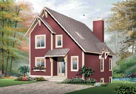 House Plan 65451 Elevation