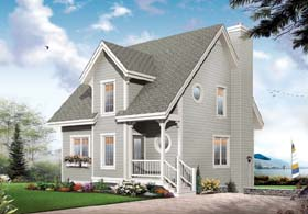 House Plan 65452 | Country Traditional Style Plan with 1531 Sq Ft, 3 Bedrooms, 2 Bathrooms Elevation