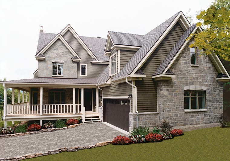 Country House Plan 65475