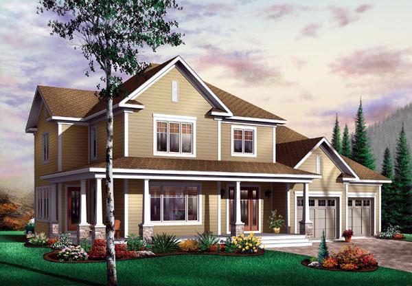 Farmhouse House Plan 65478 Elevation