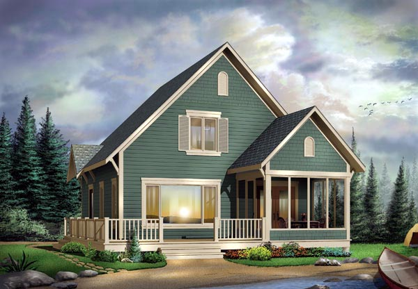 Country House Plan 65481 Elevation