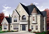Plan Number 65483 - 3614 Square Feet