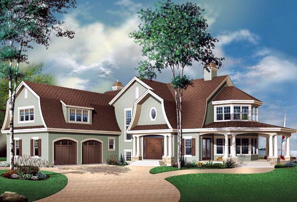 House Plan 65485 Elevation