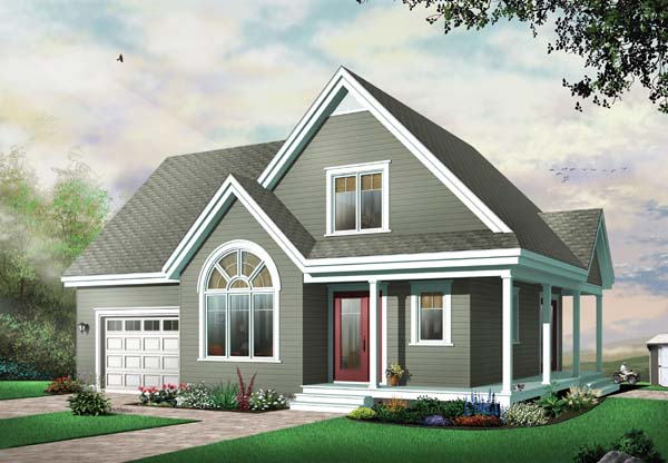 Country Traditional House Plan 65487 Elevation