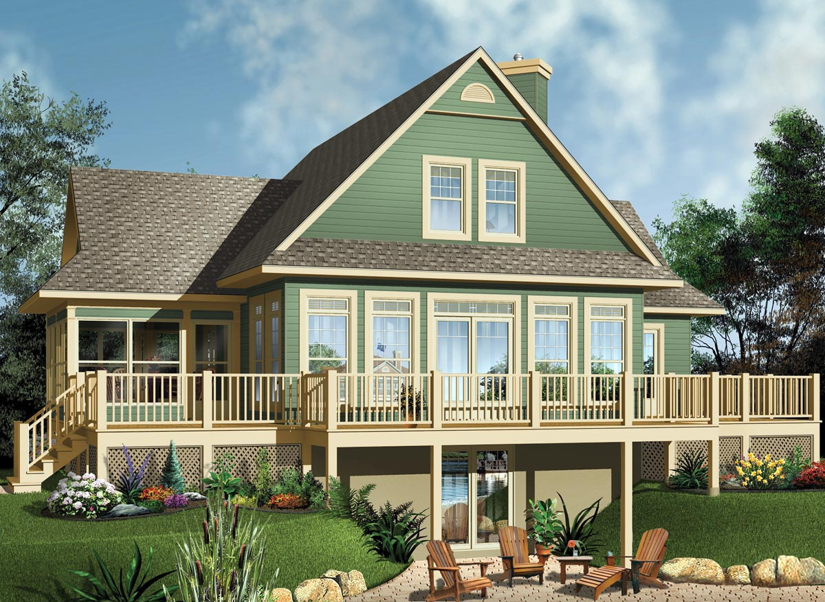 House plan 65494 order code 32web at for Www familyhomeplans com
