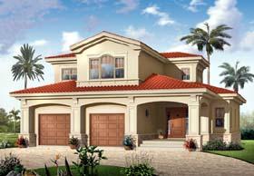 Mediterranean House Plan 65500 Elevation