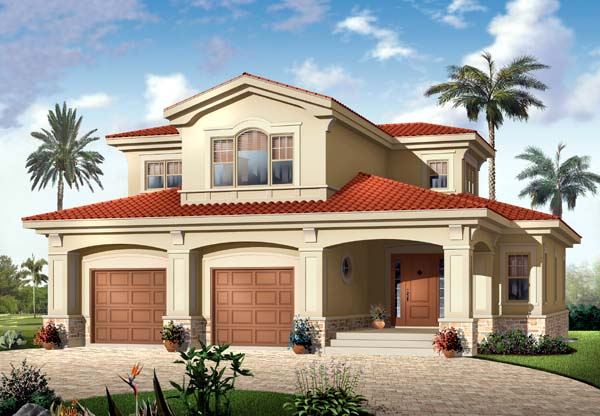 Mediterranean House Plan 65500 Elevation