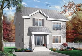 Plan Number 65503 - 1691 Square Feet