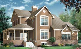 Country Traditional House Plan 65512 Elevation