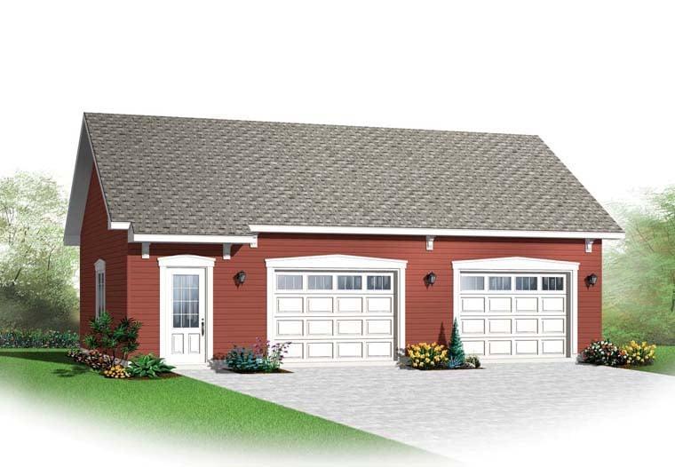 Garage Plan 65520