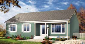 Bungalow House Plan 65535 Elevation