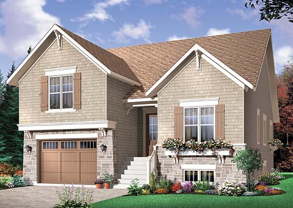 Craftsman House Plan 65548 Elevation