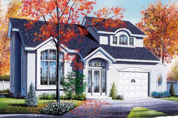 Contemporary House Plan 65571 Elevation