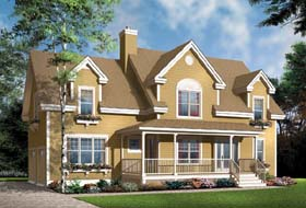 Country House Plan 65585 Elevation