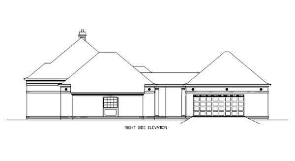 Colonial House Plan 65605 with 3 Beds, 3 Baths, 2 Car Garage Picture 2