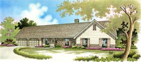 Ranch Traditional House Plan 65620 Elevation