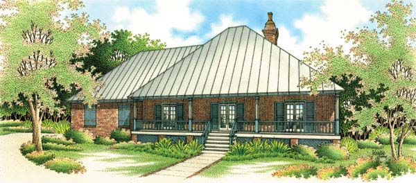 Southern House Plan 65623 Elevation
