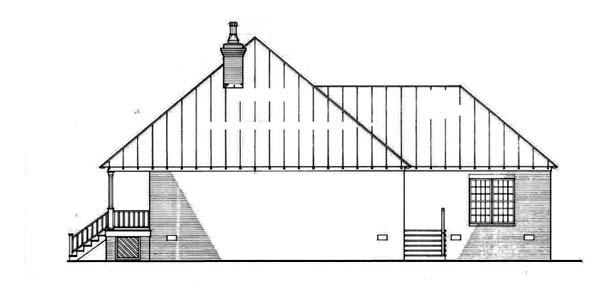 Southern House Plan 65623