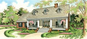 Southern House Plan 65626 Elevation