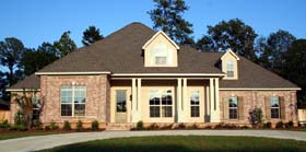 European House Plan 65632 Elevation
