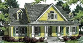 Country Southern House Plan 65633 Elevation