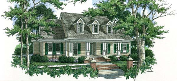 Country Southern House Plan 65646 Elevation