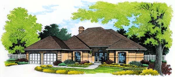 Mediterranean House Plan 65649 Elevation