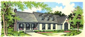 Country Mediterranean Traditional House Plan 65654 Elevation