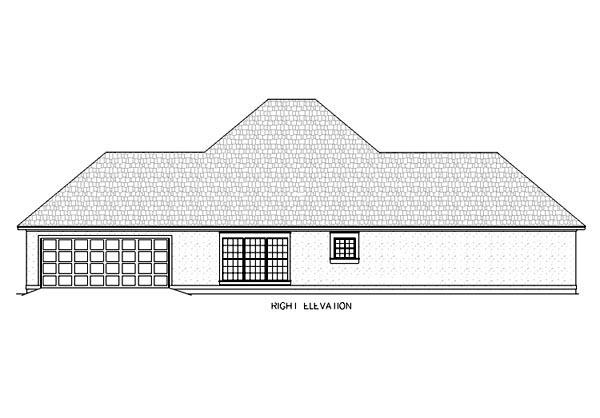 Mediterranean, One-Story House Plan 65666 with 4 Beds, 3 Baths, 2 Car Garage Picture 2