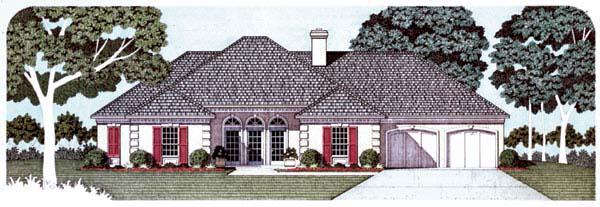 Mediterranean House Plan 65667 Elevation