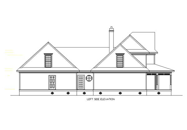 Bungalow, Country, Farmhouse House Plan 65669 with 3 Beds, 4 Baths, 2 Car Garage Picture 1