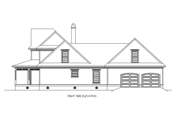 Bungalow, Country, Farmhouse House Plan 65669 with 3 Beds, 4 Baths, 2 Car Garage Picture 2