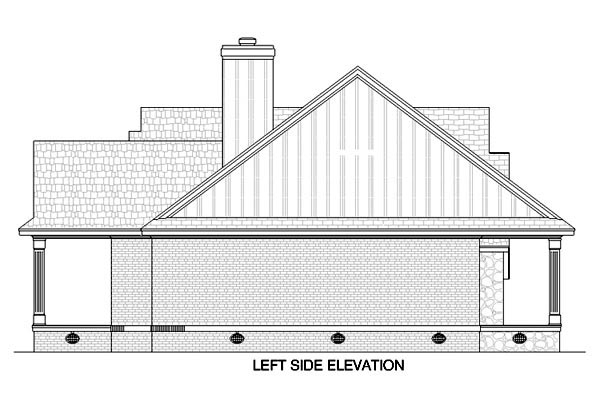 Country House Plan 65672 with 3 Beds, 2 Baths, 2 Car Garage Picture 1