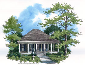 Colonial Southern House Plan 65675 Elevation