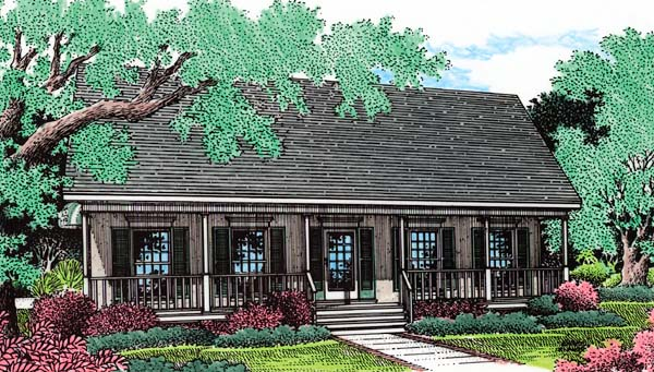 Southern House Plan 65681 Elevation