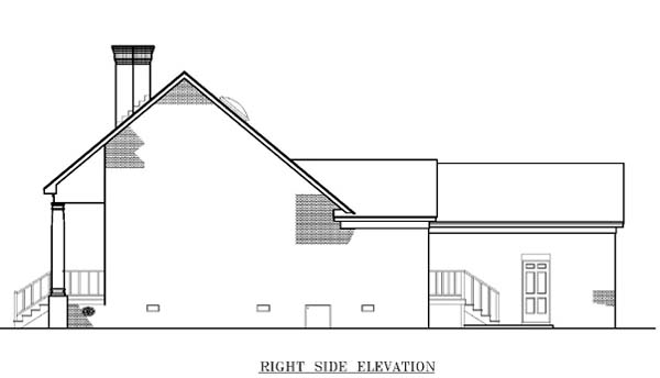 One-Story, Southwest House Plan 65682 with 3 Beds, 2 Baths, 2 Car Garage Picture 2