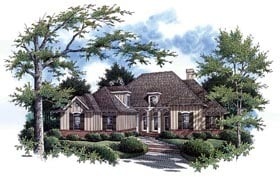 Traditional House Plan 65687 Elevation