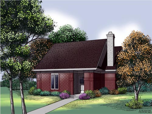 Traditional House Plan 65688 Elevation