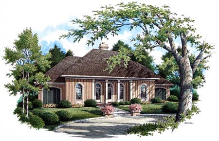 Country Traditional House Plan 65697 Elevation