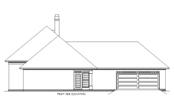Country, One-Story, Traditional House Plan 65697 with 3 Beds, 2 Baths, 2 Car Garage Picture 2