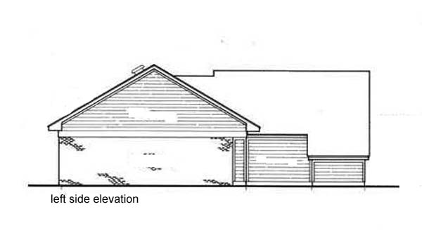 One-Story, Traditional House Plan 65707 with 3 Beds, 2 Baths, 2 Car Garage Picture 1