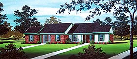 Multi-Family Plan 65721