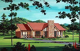 Traditional House Plan 65724 Elevation