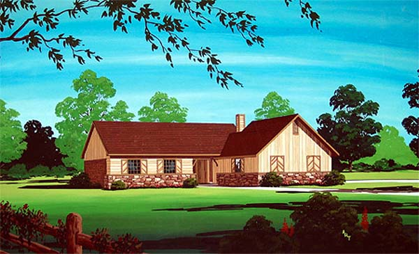 Traditional House Plan 65725 Elevation